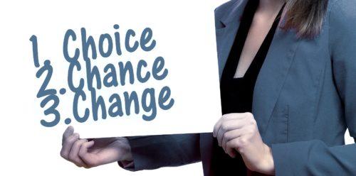Val chans förändring