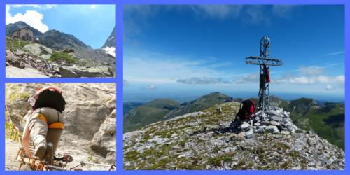 Bergstopp och bilder på vägen - delmål
